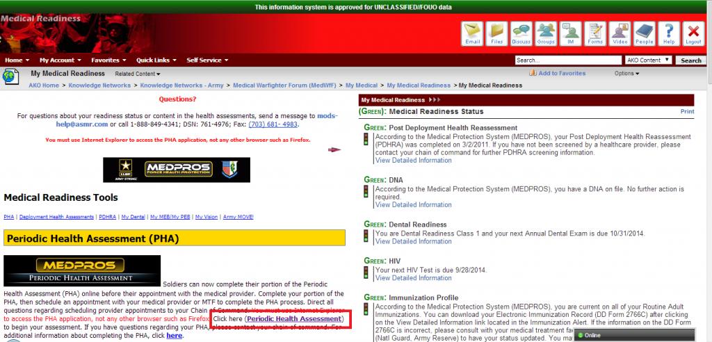 army pha online army pha form - Line.martinamarkova.co